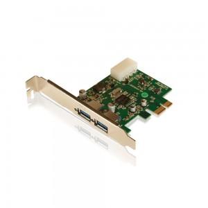 PCI Express - 2 portas USB 3.0