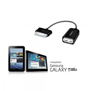 Cabo OTG Galaxy - Dock 30 pinos para USB femea