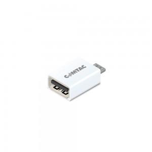 Conversor USB OTG - Micro USB p/ USB fêmea