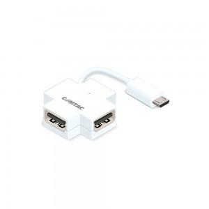 Hub micro USB OTG para dispositivos Android - 4 portas