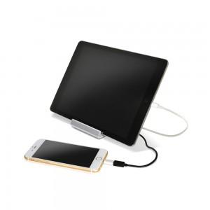 KStation - Bateria portátil 2 portas USB 1A+2A 7800mAh