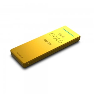 Gold Bank Bateria Portatil USB 9000mAh