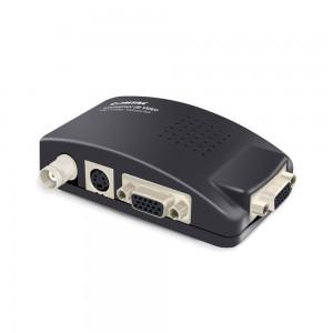Conversor de Vídeo BNC/ S-Vídeo/ VGA para VGA