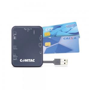 Leitor de cartões USB 2.0 para Smart Card