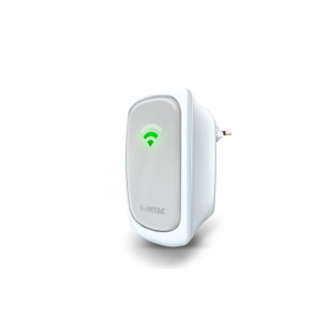 Repetidor Access Point WiFi N 300 Mbps com LEDs Indicadores de Sinal