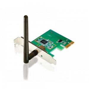 Placa PCI Express X1 WiFi N 150 Mbps Low Profile