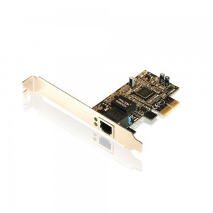 Placa PCI Express X1 de Rede Gigabit
