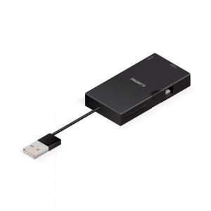 Combo Slim Plus - Hub USB, Leitor de Cartões e Carregador Micro USB