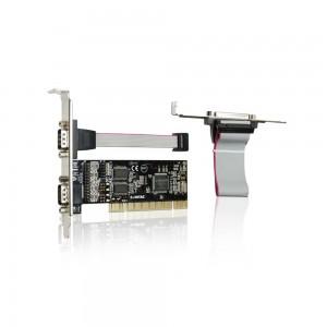 Placa PCI - 2 portas Seriais / 1 Paralela