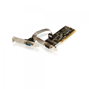 Placa PCI Low Profile - 2 portas Seriais