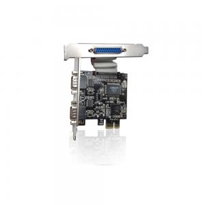 Placa PCI Express - 2 portas Seriais / 1 Paralela