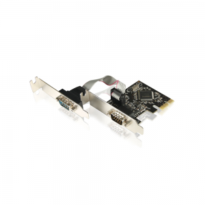 Placa PCI Express Low Profile - 2 portas Seriais