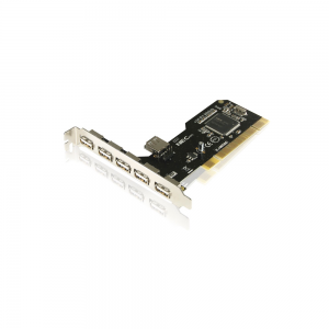 Placa PCI - 6 portas USB 2.0 Chipset NEC