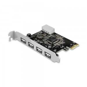 Placa PCI-e USB 2.0 - 4 portas