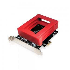 Placa PCI Express - 2 Portas SATA III / RAID com Suporte para 2 HDDs de 2.5